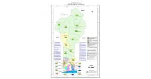 Carte des forces politiques du Bnin1