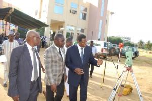 visite du ministre Christian SOSSOUHOUTO