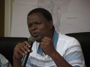 Le Directeur Général, Roch Abdon BAH