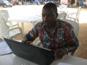 M. AKABASSI-TOGAN Alexis Technicien Géomètre en service à l'IGN Ouémé-Plateau, 1er délégué du personnel de l'IGN Ouémé-Plateau
